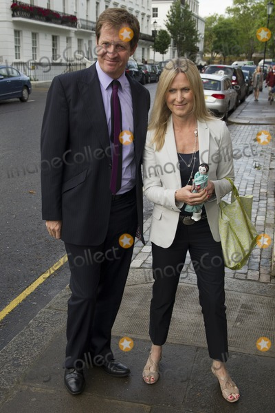 Alistair Campbell Photo - Alistair Campbell and wife arriving for David Frosts Annual Garden Party held at the Royal Chelsea Hospital in London 10072012 Picture by Simon Burchell  Featureflash