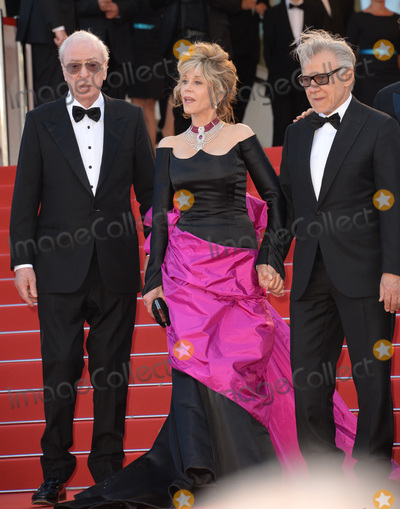 Michael Caine Photo - Jane Fonda Michael Caine  Harvey Keitel at the gala premiere for their movie Youth at the 68th Festival de CannesMay 20 2015  Cannes FrancePicture Paul Smith  Featureflash