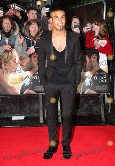 Lucien Laviscount Photo - Lucien Laviscount arriving for The Lucky One European Premiere Bluebird Chelsea London 23042012 Picture by Alexandra Glen  Featureflash