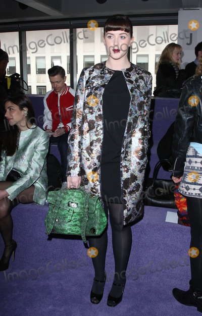 Alexandra Roache Photo - Alexandra Roach at Christopher Kane AW part of London Fashion Week 20022012 Picture by Henry Harris  Featureflash