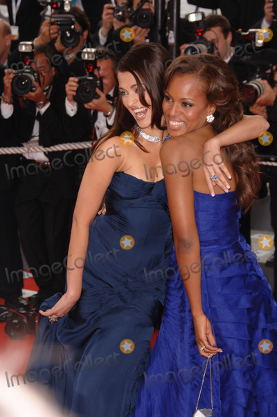 Aishwarya Ray Photo - Actresses AISHWARYA RAI (left)  KERRY WASHINGTON at the gala screening of The Wind That Shakes The Barley at the 59th Annual International Film Festival de CannesMay 17 2006  Cannes France 2006 Paul Smith  Featureflash