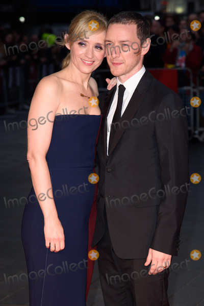 Anne Marie Duff Photo - Anne Marie Duff  James McAvoy at the BFI London Film Festival premiere of Suffragette at the Odeon Leicester Square LondonOctober 7 2015  London UKPicture Steve Vas  Featureflash