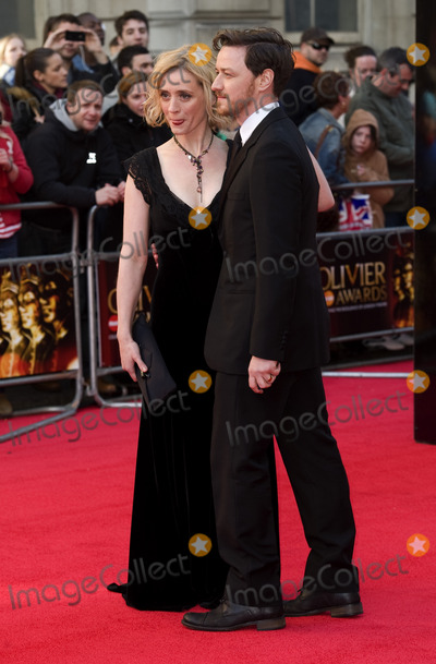 Anne Marie Duff Photo - James McAvoy and Anne Marie Duff arrives for the Olivier Awards 2012 at the Royal Opera House Covent Garden London 15042012 Picture by Simon Burchell  Featureflash