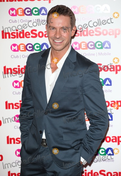 Ashley Taylor Photo - Ashley Taylor Dawson arriving for the 2013 Inside Soap Awards at the Ministry Of Sound London 21102013 Picture by Alexandra Glen  Featureflash