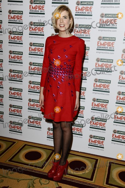 Agyness Deyn Photo - Agyness Deyn in the press room at the Empire Film Awards 2012 at the Grosvenor House Hotel London 25032012 Picture by Steve Vas  Featureflash