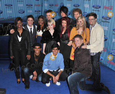 Alexis Grace Photo - American Idol Final 13 stars Kris Allen Danny Gokey Alexis Grace Allison Iraheta Adam Lambert Scott MacIntyre Jorge Nunez Lil Rounds Michael Sarver Megan Corkrey Anoop Desai Matt Giraud  Jasmine Murray at the American Idol Final 13 Party at Area Nightclub West HollywoodMarch 5 2009  Los Angeles CAPicture Paul Smith  Featureflash