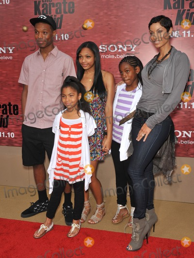 NICOLE MITCHELL Photo - Nicole Mitchell Murphy  family at the Los Angeles premiere of The Karate Kid at Mann Village Theatre WestwoodJune 7 2010  Los Angeles CAPicture Paul Smith  Featureflash