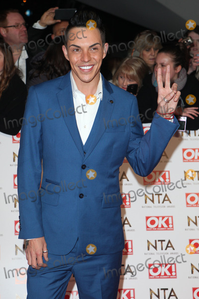 Bobby Norris Photo - Bobby Norris arriving for the 2015 National Television Awards (NTAs) at the O2 London 21012015 Picture by Alexandra Glen  Featureflash