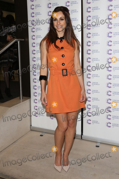 Lindsay Armaou Photo - Lindsay Armaou arriving at James Jog On To Cancer Event Kensington Roof Gardens London 09042014 Picture by Henry Harris  Featureflash