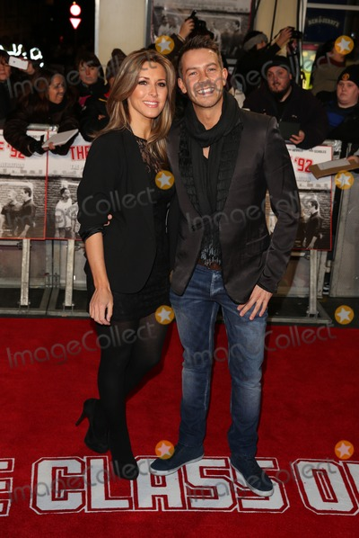 Ashley Taylor Photo - Ashley Taylor Dawson Karen McKay at The Class of 92 premiere held at the Odeon West End cinema London 01122013 Picture by Henry Harris  Featureflash