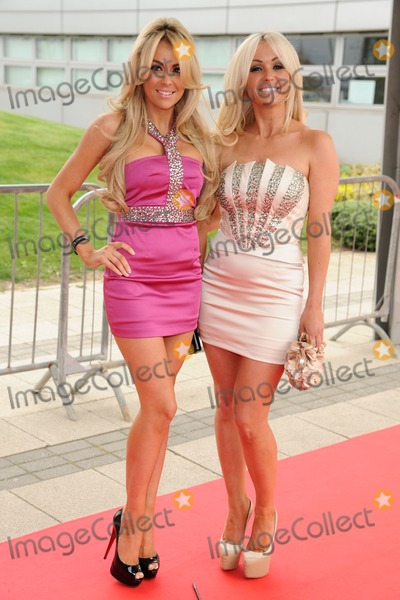 Amanda Harrington Photo - Amanda Harrington and Debbie OToole (Desperate Scousewives) arrives for Essex Fashion Week SS12 at CEME Conference Centre Dagenham London 09042012 Picture by Steve Vas  Featureflash