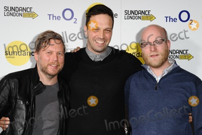 August Schram Photo - Philip Preuss Daniel Moshel and August Schram at the screening of August Sings Carmen Habenera as part of Sundance London 2014 O2 arena London  27042014 Picture by Steve Vas  Featureflash