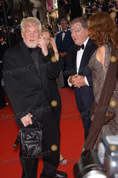 Nick Williams Photo - Actor NICK NOLTE (left) with WILLIAM SHATNER  date at the gala screening of Over the Hedge at the 59th Annual International Film Festival de CannesMay 17 2006  Cannes France 2006 Paul Smith  Featureflash