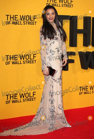 Amal Fashanu Photo - Amal Fashanu arriving for the UK Premiere of The Wolf Of Wall Street Odeon Leicester Square London 09012014 Picture by Alexandra Glen  Featureflash