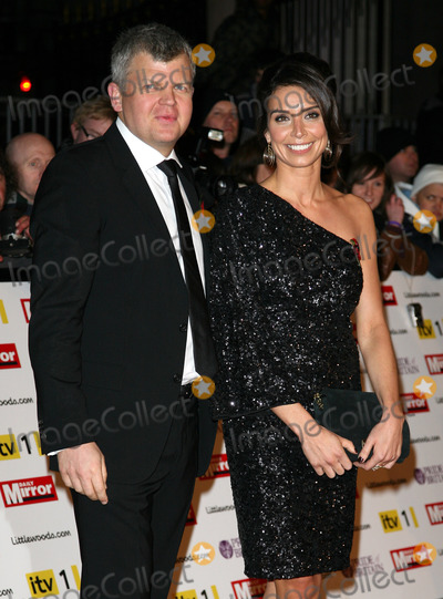 Adrian Chiles Photo - Christine Bleakley and Adrian Chiles arriving for the 2010 Pride Of Britain Awards at the Grosvenor House Hotel London 08112010  Picture by Alexandra Glen  Featureflash