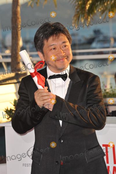 Hirokazu Koreeda Photo - Hirokazu Koreeda at the closing awards gala of the 66th Festival de CannesMay 26 2013  Cannes FrancePicture Paul Smith  Featureflash