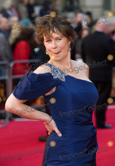 Celia Imrie Photo - Celia Imrie arrives for the Olivier Awards 2012 at the Royal Opera House Covent Garden London 15042012 Picture by Simon Burchell  Featureflash
