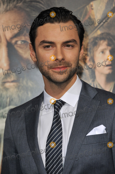 Aidan Turner Photo - Aidan Turner at the Los Angeles premiere of his movie The Hobbit The Desolation of Smaug at the Dolby Theatre HollywoodDecember 2 2013  Los Angeles CAPicture Paul Smith  Featureflash