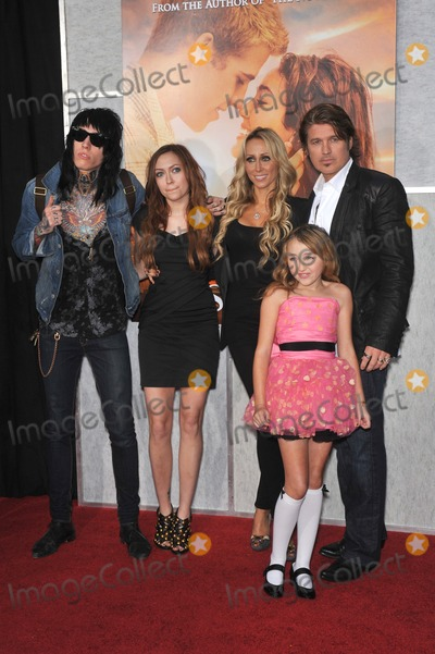 Cyrus Family Photo - Billy Ray Cyrus  family at the world premiere of The Last Song at the Arclight Theatre HollywoodMarch 25 2010  Los Angeles CAPicture Paul Smith  Featureflash