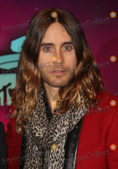 30 Seconds to Mars Photo - Jared Leto 30 seconds to Mars arriving at the MTV EMA awards Amsterdam Netherlands 101120013 Picture by Henry Harris  Featureflash