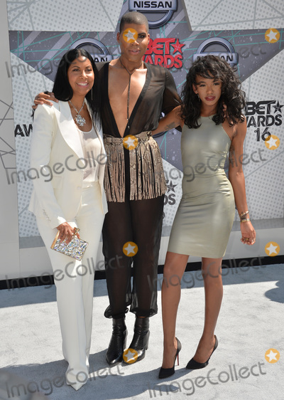 Earvin Magic Johnson Photo - LOS ANGELES CA June 26 2016 Rich Kids star EJ Johnson - son of basketball star Earvin Magic Johnson -  mother Cookie Johnson  sister Elisa Johnson at the 2016 BET Awards at the Microsoft Theatre LA Live Picture Paul Smith  Featureflash