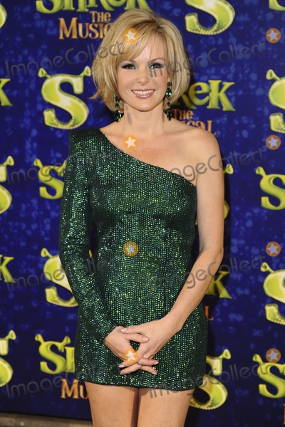 Amanda Holden Photo - Amanda Holden arrives for the 1st night party of Shrek The Musical at Somerset House London 14062011  Picture by Steve Vas  Featureflash