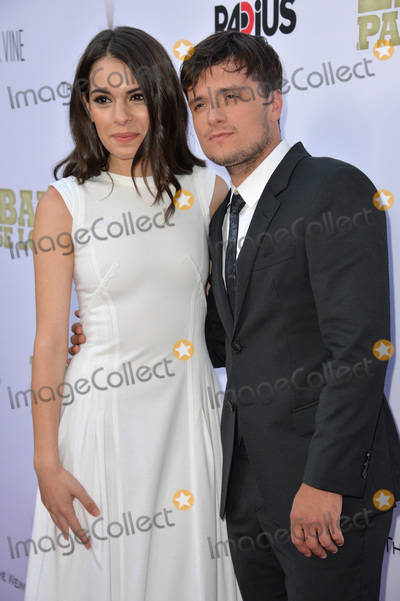 Claudia Traisic Photo - Josh Hutcherson  Claudia Traisic at the Los Angeles premiere of their movie Escobar Paradise Lost at the Arclight Theatre Hollywood June 22 2015  Los Angeles CAPicture Paul Smith  Featureflash