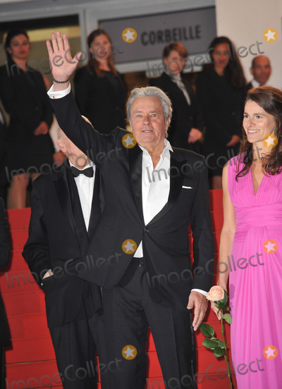 Alain Delon Photo - Alain Delon  Aurelie Filippetti at gala premiere at the 66th Festival de Cannes for Only Lovers Left AliveMay 25 2013  Cannes FrancePicture Paul Smith  Featureflash