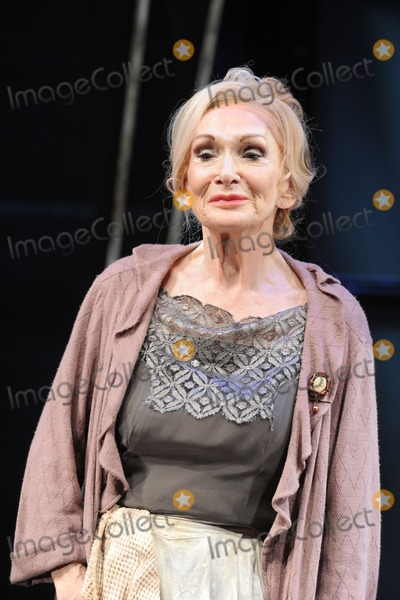 Sian Phillips Photo - Sian Phillips as Fraulien Schneiderin Cabaret  at the Savoy Theatre London 08102012 Picture by Steve Vas  Featureflash