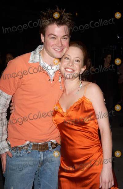 Amy Williams Photo - Actress AMY DAVIDSON  actor COLE WILLIAMS at the world premiere in Hollywood of Mean GirlsApril 19 2004