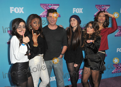 Fifth Harmony Photo - Simon Cowell  Fifth Harmony at the press conference for the season finale of Foxs The X Factor at CBS Televison City Los AngelesDecember 17 2012  Los Angeles CAPicture Paul Smith  Featureflash