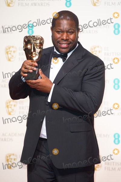 Steve Mc Queen Photo - Steve McQueen in the Press Room at the BAFTAs 2014Royal Opera House London 16022014 Picture by Dave Norton  Featureflash