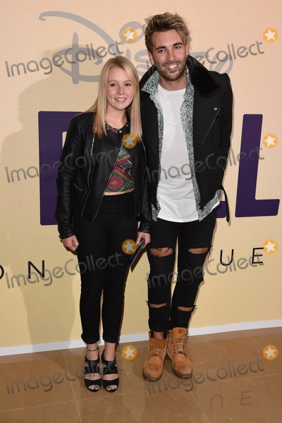 Andy Samuels Photo - Andy Samuels and sister arrives for the The Million Dollar Arm Gala screening at the Mayfair Hotel London 21082014 Picture by Steve Vas  Featureflash