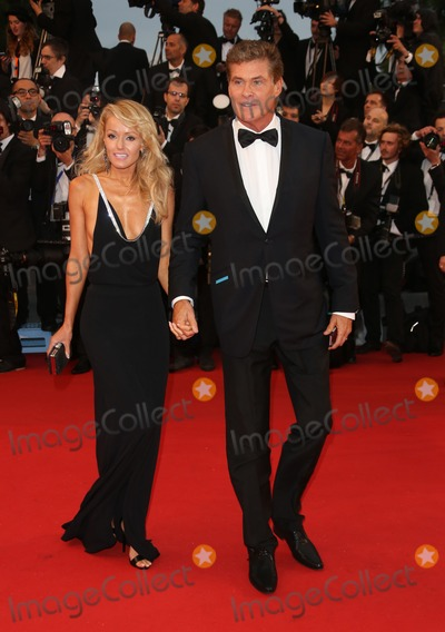 Hayley Roberts Photo - David Hasselhoff Hayley Roberts at the 66th Cannes Film Festival - Opening ceremony and Great Gatsby premiere Cannes France 15052013 Picture by Henry Harris  Featureflash