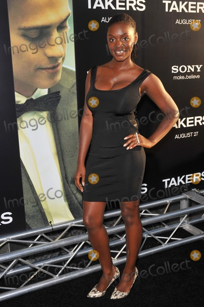 Yaani King Photo - Yaani King at the world premiere of Takers at the Cinerama Dome HollywoodAugust 4 2010  Los Angeles CAPicture Paul Smith  Featureflash