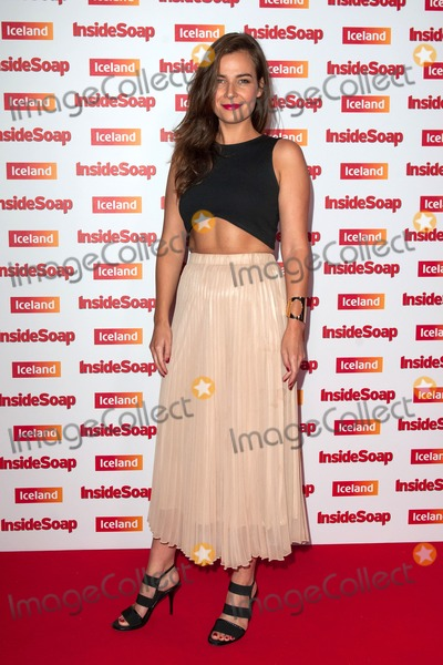 Camilla Arfwedson Photo - Camilla Arfwedson arriving for the Inside Soap Awards 2014 London 01102014 Picture by Alexandra Glen  Featureflash