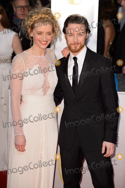 Anne-Marie Duff Photo - Anne Marie Duff and James McAvoy arrives for the BAFTA Film Awards 2015 at the Royal Opera House London 08022015 Picture by Steve Vas  Featureflash