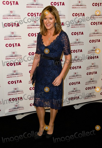Andrea Catherwood Photo - Andrea Catherwood arriving for The 2012 Costa Book Awards at Quaglianos Restaurant in London on 24th Jan 2012Pics by Simon Burchell  Featureflash