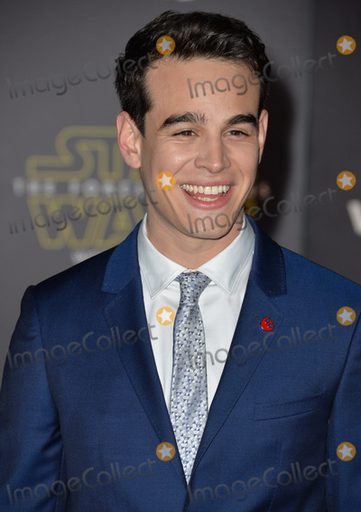 Alberto Rosende Photo - Actor Alberto Rosende at the world premiere of Star Wars The Force Awakens on Hollywood BoulevardDecember 14 2015  Los Angeles CAPicture Paul Smith  Featureflash