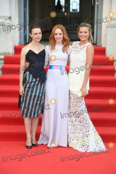 Margot Robbie Photo - Lydia Wilson Margot Robbie and Rachel McAdams arriving for the About Time UK Premiere held at Somerset House London 08082013 Picture by Henry Harris  Featureflash
