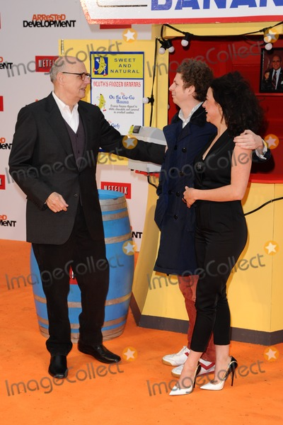 Alia Hawkat Photo - Jeffrey Tambour Michael Cera and Alia Hawkat arriving for the Arrested Development Season Four  premiere at the Vue Leicester Square London 09052013 Picture by Steve Vas  Featureflash