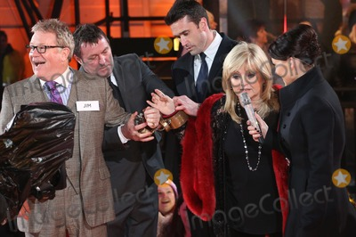 Linda Nolan Photo - Jim Davidson Linda Nolan Emma Willis at Celebrity Big Brother 2014 - Contestants Enter The House Borehamwood 03012014 Picture by Henry Harris  Featureflash