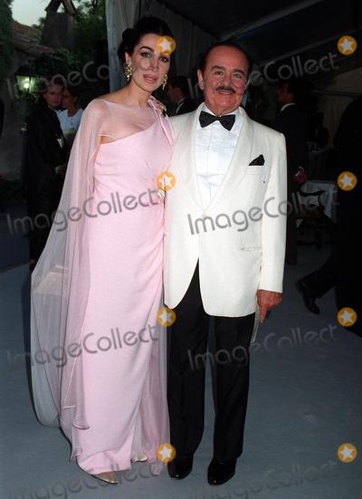 Adnan Khashoggi Photo - 15MAY97  SHAPARI KHASHOGGI  ADNAN KHASHOGGI at the 1997 Cannes Film Festival