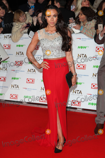 Ashleigh Defty Photo - Michelle Heaton attending the National Television Awards 2016 The O2 London on 20012016 Picture by Kat Manders  Featureflash