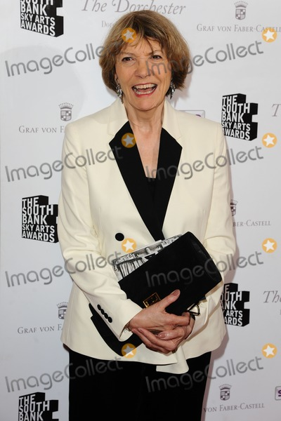 Joan Bakewell Photo - Dame Joan Bakewell arriving for the South Bank Sky Arts Awards 2012 Dorchester Hotel London 01052012 Picture by Steve Vas  Featureflash