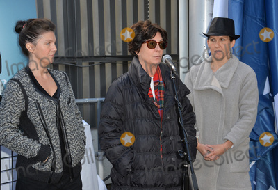 Frank Sinatra Photo - Tina Sinatra (centre) daughter of Frank Sinatra  his granddaughters AJ Lambert (left)  Amanda Erlinger at the ceremony atop the Capitol Records Building in Hollywood to raise a 100th birthday flag in honor of singer Frank Sinatra who was born 100 years ago on 12th December Los Angeles December 11 2015 December 11 2015  Los Angeles CAPicture Paul Smith  Featureflash