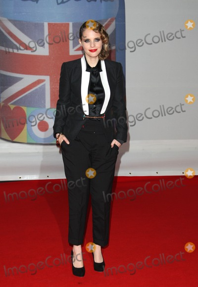 Anna Calvi Photo - Anna Calvi arriving for the 2012 Brit Awards at the O2 Arena London 21022012 Picture by Henry Harris  Featureflash