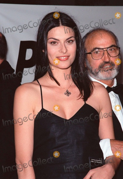 Magali Amadei Photo - 18SEP99 Model MAGALI AMADEI  father at PETAs Party of the Century in Los Angeles      Paul Smith  Featureflash