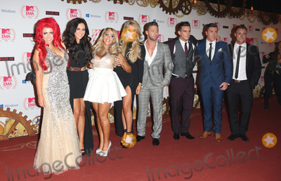 James Tindale Photo - Holly Hagan Vicky Pattison Ricci Guarnaccio Charlotte-Letitia Crosby Gaz Beadle James Tindale Scott Timlin and Sophie Kasaei of Geordie Shore arriving for the The MTV EMAs 2012 held at Festhalle Frankfurt Germany 11112012 Picture by Henry Harris  Featureflash