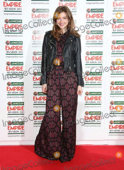 Antonia Clark Photo - Antonia Clarke arrives for the Empire Film Awards 2013 at the Grosvenor House Hotel London 24032013 Picture by Henry Harris  Featureflash